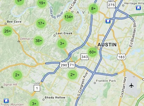 Austin Tx Map Of Texas.Homes For Sale In Austin Tx Real Estate In Austin Texas